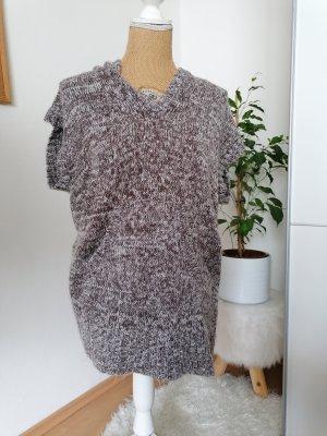 NKD Camicia maglia marrone-grigio-bianco sporco