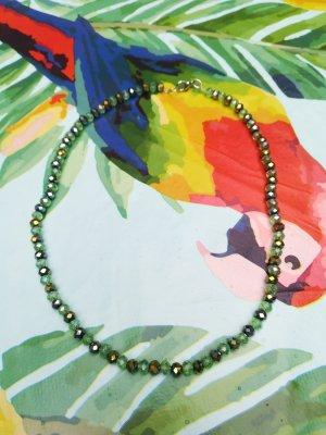 Necklace sage green-green grey