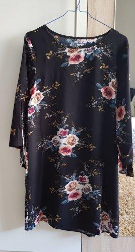 1 brand Midi Dress black