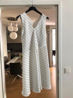 C&A Sukienka midi w kolorze białej wełny Tkanina z mieszanych włókien