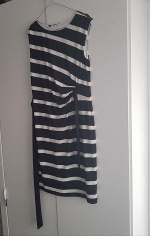 1 brand Midi Dress white-black