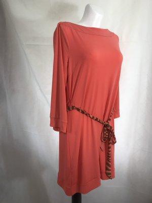 Damen Kleid Fuchsia Coral Rot Neu XXL