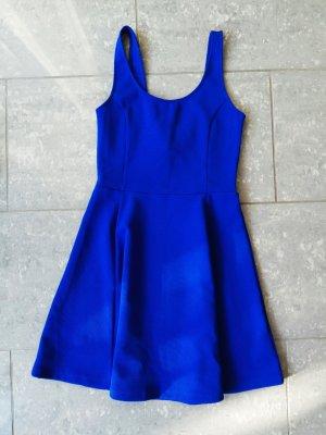 damen kleid gr.36 blau h&m