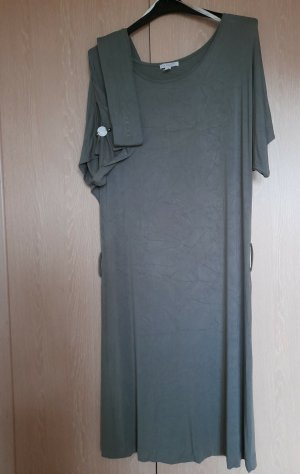 Apart Midi Dress khaki viscose