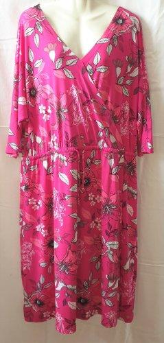 Esmara Kopertowa sukienka różowy Poliester
