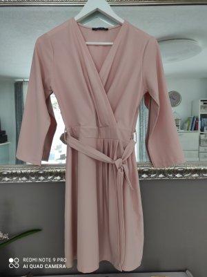 blue sand Vestido cruzado rosa