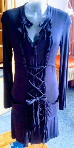 Damen Kleid Jersey ausgefallen Gr.S in Blau von Yest