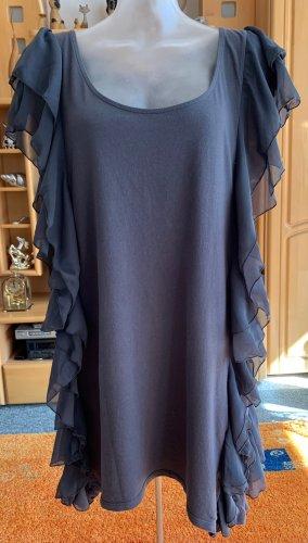 Damen Kleid lässige Jersey Tunika Gr.L in Grau von H&M