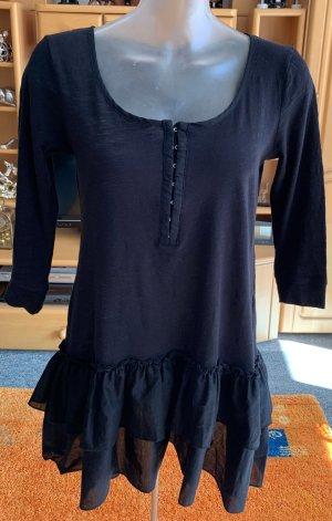 Damen Kleid lässige Tunika Gr.S in Schwarz von H&M