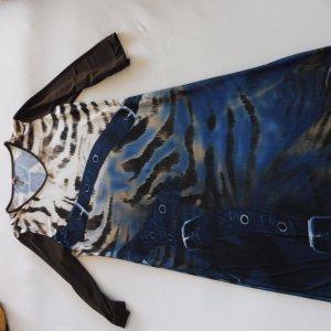 Damen Kleid Lavelle 36 / 38 Braun und Blau Neu Kofferkleid