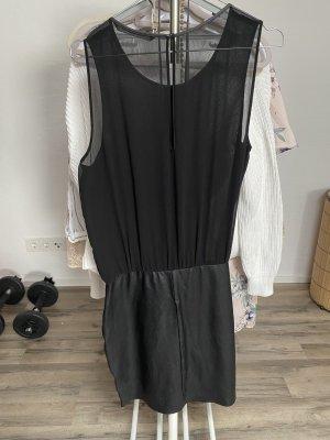 Damen Kleid mit Lederrock