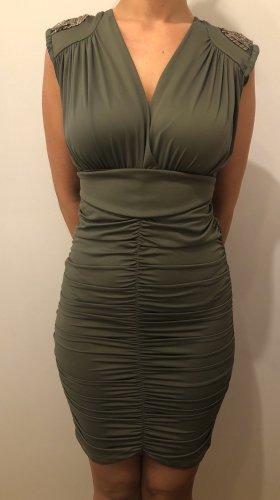 Damen Kleid olivgrün