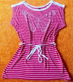 Damen Kleid Sommer Tunika Gr.L gestreift von Madonna