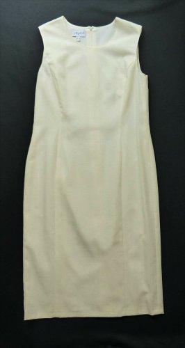 Pier Angelini Midi Dress oatmeal polyester