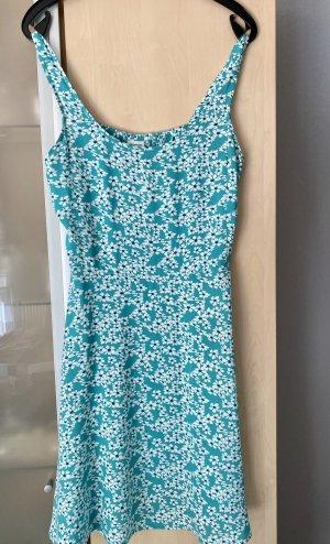 Damen Kleid Sommerkleid grün weiß Gr 36 Jacqueline de Yong Neu mit Etikett €22,99