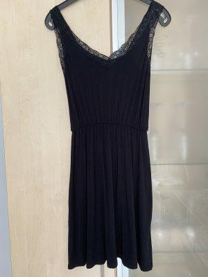 Damen Kleid Spitze Gr XS schwarz Jacqueline de Yong wie Neu