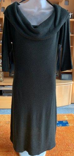 Vestido estilo camisa marrón-negro