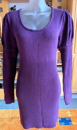 Damen Kleid Strick Kuschelig warm Gr.36/38 in Lila von Trend