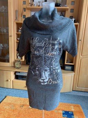 Damen Kleid Strick Print Gr.S in Grau von Jennifer Taylor NW