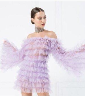 Damen Kleid Tüll