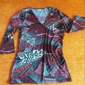 Damen Kleid Tunika wunderschön Jersey geblümt Gr.S von Laura T.