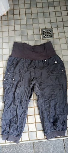 3/4 Length Trousers anthracite nylon