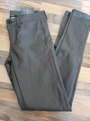 Tezenis Pantalone in pelle marrone-grigio