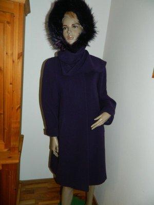 Damen Kurz Mantel Grösse 36 Lila (156)