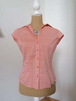 H&M Camisa de manga corta blanco-salmón