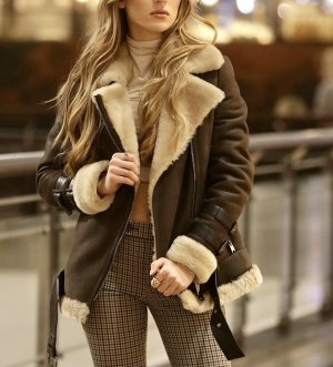 Pelt Jacket light brown