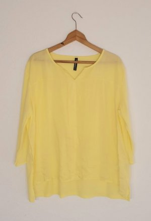100% Fashion Bluzka z długim rękawem żółty