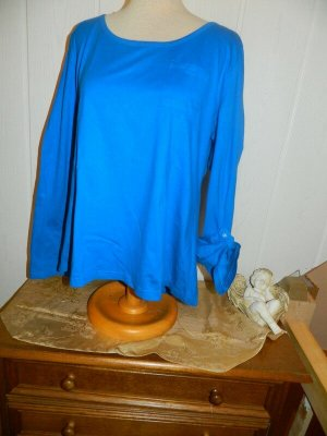 C&A Manica lunga blu Cotone