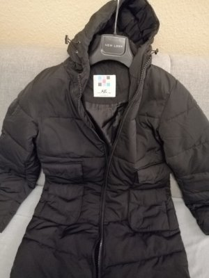 AJC Quilted Coat black