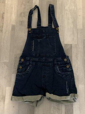 New Yorker Salopette en jeans bleu foncé