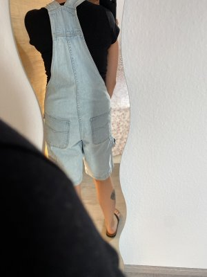 Dungarees azure-baby blue