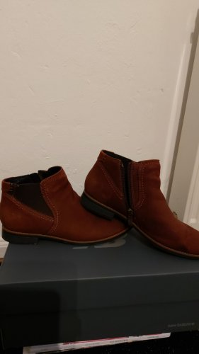 5 th Avenue Chelsea Boots bordeaux