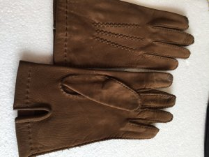 Leather Gloves brown leather