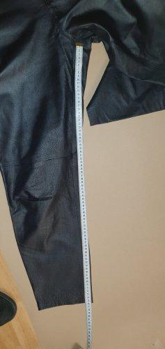 Authentics Skórzane spodnie czarny