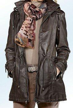 Damen Leder-Jacke