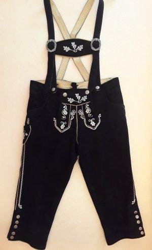 Country Maddox Pantalone in pelle tradizionale nero Pelle