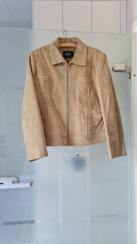 Joy Leather Jacket light brown