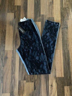 Calzedonia Legging bleu azur-noir