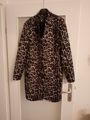 Damen leopard Muster Mantel gr42 Comma