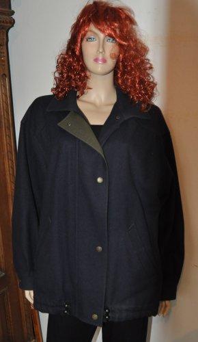 Dachstein Between-Seasons Jacket dark blue wool