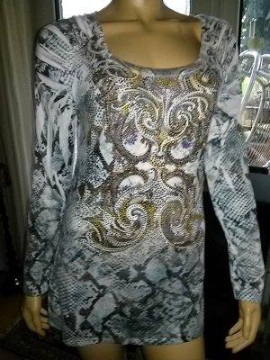 Damen Long-Shirt S 12- Gr. L (UK)= 42/44 D- neu