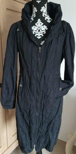 Damen Luxus Mantel aus Paris Gr. 38 schwarz/ Koffermantel