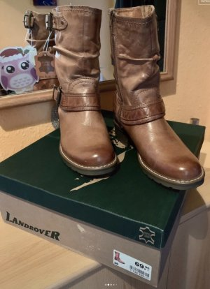 """Damen Mädchen Boots """"Landrover""""  Gr 36 braun Neu"""