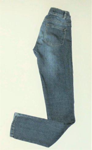 Damen Mädchen Hose ZARA Gr. 36 / S Jeans Jeggings Leggings blau guter Zustand