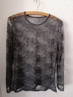 Netshirt grijs Polyamide