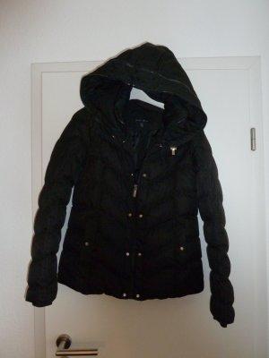 Damen Mädchen Winter Jacke Gr 34 Amisu schwarz